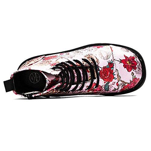 Rose T Anarchic u k Boots Femme ERwXRqr
