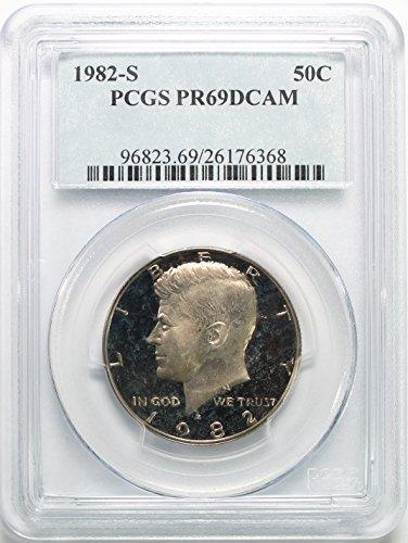 - 1982 S Kennedy Clad Half Dollar 50c PR69DCAM PCGS