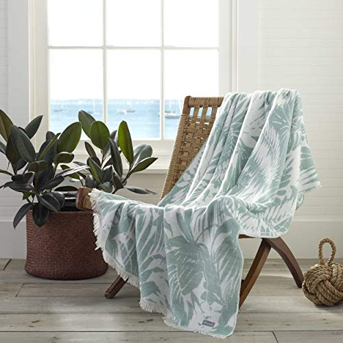 Tommy Bahama Desert Fronds Throw, 50x60, Green (Throws Tropical)