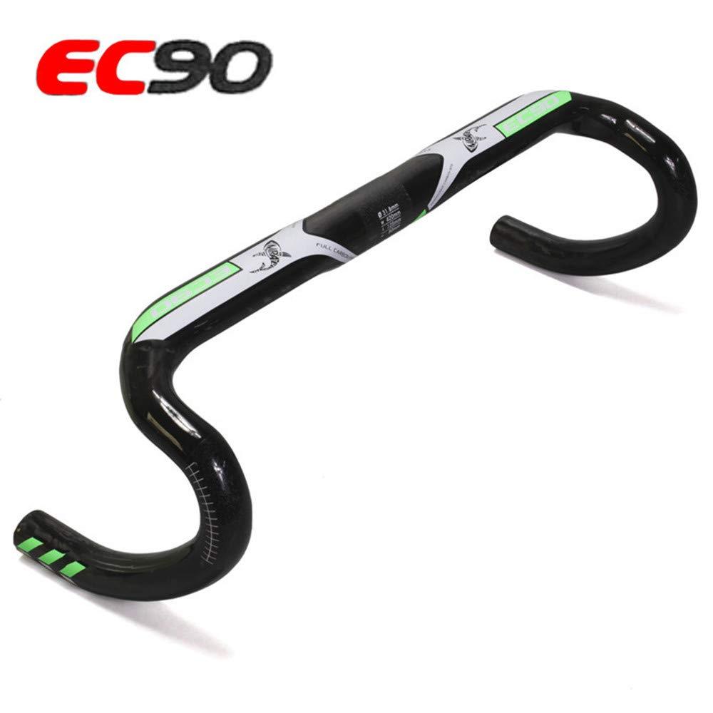 EC90 Bicyle Handlebar Road Bike Full Carbon Fiber Integrated Bar 400//420//440mm