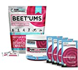 PureClean Performance - Jar (300G) + 2 Pack (15 packets = 30), Beet root ''superfood'', PLUS Beet'Ums - beet infused Chocolate Pomegranate Performance Chews