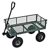 Sandusky Lee CW3418 Muscle Carts Steel Utility Garden Wagon, 400 lb. Load Capacity, 21-3/4'' Height x 34'' Length x 18'' Width