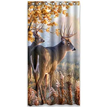 Delicate HOT Design Beautiful Firefly At Night Shower Curtain 60w X 72
