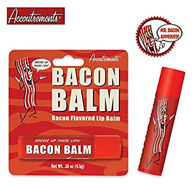 Accoutrements Bacon Lip Balm (Pack of 2 Lip Balms)