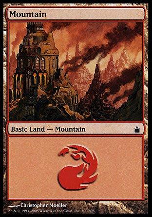 (Magic: the Gathering - Mountain (300) - Ravnica -)