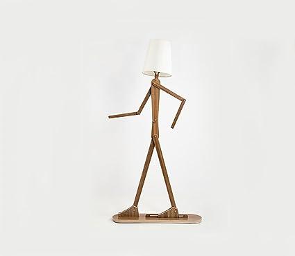 Lámparas de pie Original de madera 1.6m Ffloor Lámpara de ...