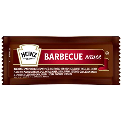 Heinz Barbecue Sauce Packets - 12 gram (25 ct.) (Sauce Packet)
