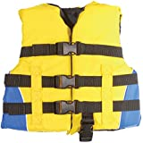 MW Child 3-Buckle Life Jacket Vest - Yellow/Blue