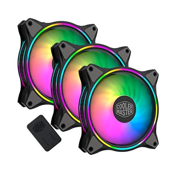3 in 1 with ARGB LED C Cooler Master MasterFan MF120R Addressable RGB 120mm Fan