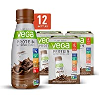 Vega Protein 12 Count of 11 Fl Oz Chocolate Nutrition Shakes