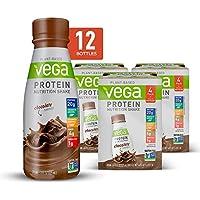 12-Count Vega Protein Chocolate Nutrition Shakes, 11 Fl Oz