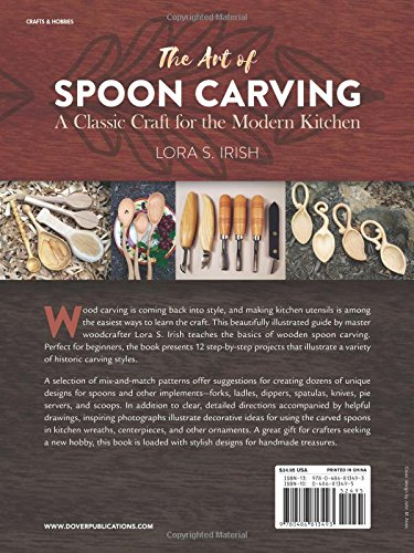 The Art of Spoon Carving: A Classic Craft for the Modern Kitchen by Dover (Image #2)