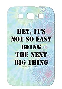 Heynextbigtransblk Black For Sumsang Galaxy S3 Its Thing The Being Hey Miscellaneous Funny Easy Next Big Not So Protective Hard Case