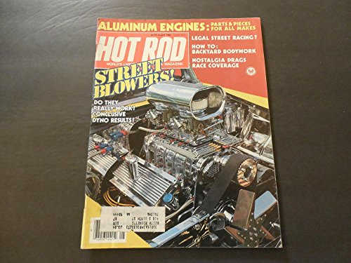 Hot Rod Aug 1983 Street Blowers; Aluminum Engines; Street ()