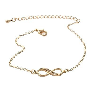 Amazon Com Muzhe 2018 New Fashion Infinity Bracelet For Women With