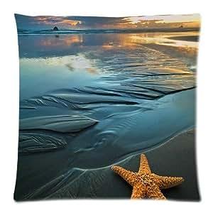 Kieffer shop Starfish 18*18 inch cotton pillowcase