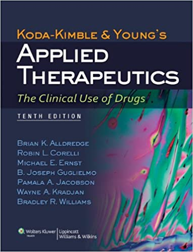 Applied Therapeutics The Clinical Use Of Drugs Pdf