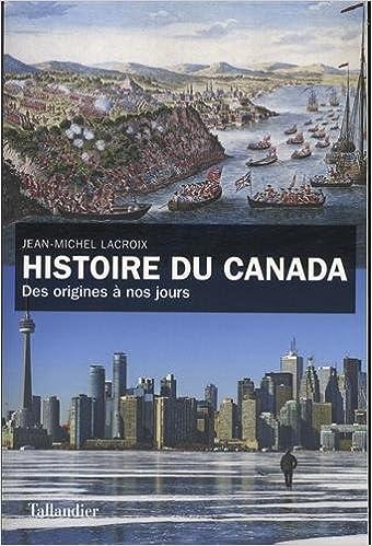 """Résultat de recherche d'images pour """"Histoire du canada des origines à nos jours"""""""