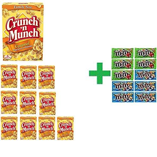 crunch-n-munch-caramel-popcorn-peanuts-10-oz-pack-of-11-10-pack-of-mm-milk-chocolate-169oz-bundle-