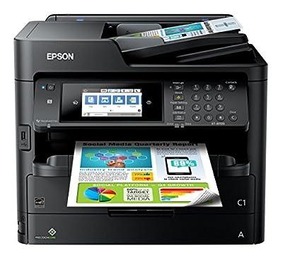 Epson ET-8700 Color Photo Printer with Scanner Copier & Fax