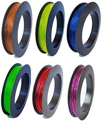 SainSmart TPU Flexible Filament 1.75mm 50g Color Combo 6-Pack