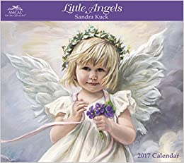 Sandra Kuck Little Angels 2017 Calendar: Amazon.co.uk ...