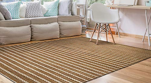 Couristan 71880431030050T Natures Elements Collection Desert Rug, 3' x 5', Sand Dune/Ivory