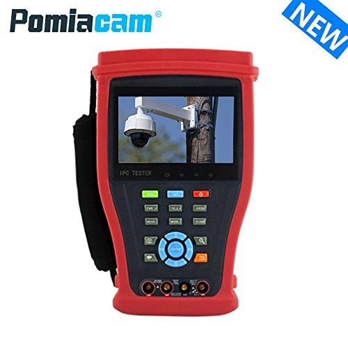【在庫あり】 POMIACAM IPカメラテスター アナログ(CVBS)CCTVテスター モニター IP camera tester B07D48YMKD CCTV tester AHD 4K CVI TVI SDIに対応 OnvifPoE給電 RJ45 TDRテスト 1080PのHDMI出力と入力 4K H.265 4.3インチ モニター IPC-4300ADHS plus B07D48YMKD, 沖縄 ヒマラヤ:445b703a --- martinemoeykens-com.access.secure-ssl-servers.info