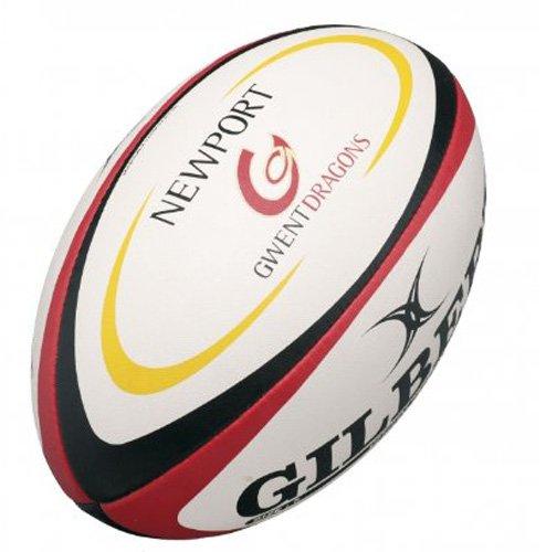 GILBERT Newport Gwent Dragons Replica Beach Rugby Ball