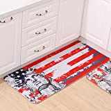 Garwarm Creative fashion Cartoon Modern Thickening Soft Flannel Non-Slip Easy-Clean Area Rugs Floor Carpet Mats Pad for Kids Room Living Room Kitchen Bedroom Home Decoration with Size 50cm *120cm (1.64?x 3.94?)