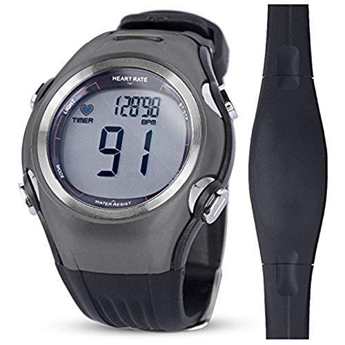 QIANMA Wireless Chest Strap Heart Rate Watch Heart Rate Monitor Men Sports Polar Watches Waterproof Digital Wireless…