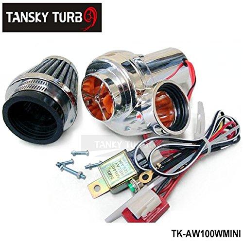 Phantom Electric Supercharger Amazon: Turbo Kits Mini Electric Turbo Supercharger Kit Air Filter