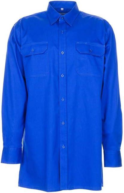 Planam 407037 camisa de manga larga (Serge talla 37/38 azul ...