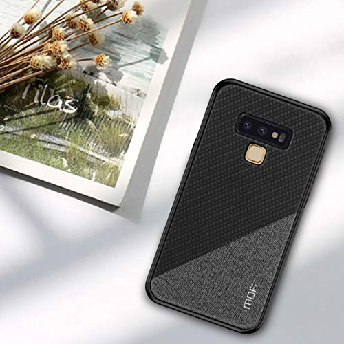 for Samsung Cases & Covers MOFI Honors Series Total Coverage TPU + PC + Cloth Glued Case for Samsung Galaxy Note 9 (Size : Sas3372b)