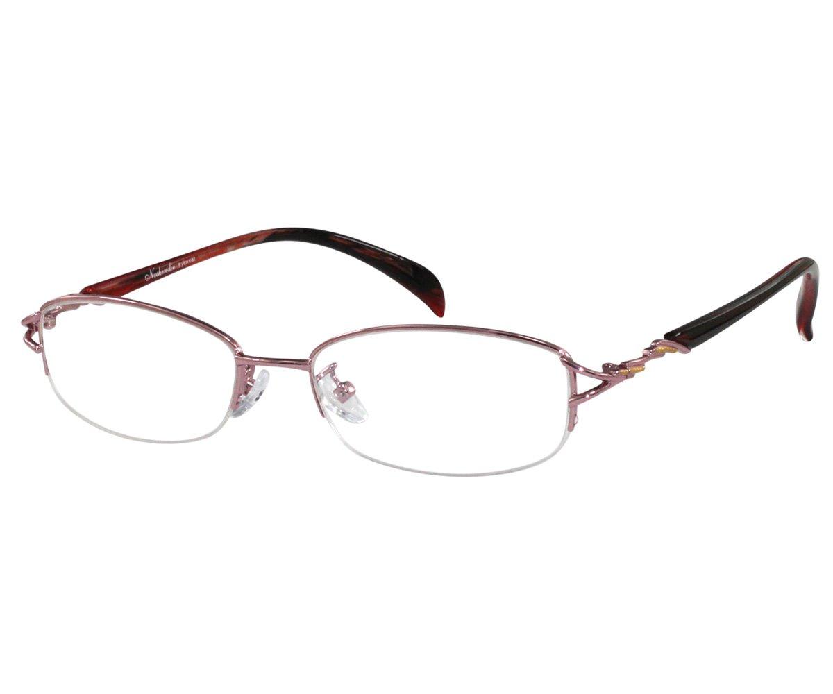 b745c2bb93a Amazon.com  EyeBuyExpress Bifocal Stainless Steel Reading RX Glasses Women  Pink Black  Beauty