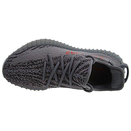 Ethel Hubbard Boost 350 V2 Sneaker Mannen Schoenen Vrouwen Loopschoenen Gym Loopschoenen -grau Klassieke Sportschoenen Grijs / Rood