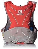 Cheap Salomon Unisex S-Lab ADV Skin3 5 Set Backpack, Racing Red, Aluminium, White, 2XS