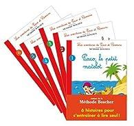 Pack 6 histoires autour de la méthode Boscher : les Aventures de Paco et Séverine par Gérard Sansey
