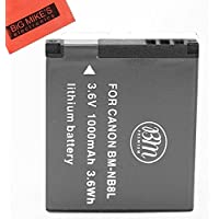 BM Premium NB-8L Battery For Canon PowerShot A2200 IS, A3000 IS, A3100 IS, A3200 IS, A3300 IS Digital Camera