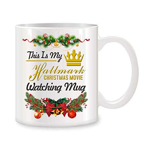 Enoch Slsiek Coffee Mug This is My Hallmark Christmas Movie Watching Mug Tea Cup Ceramic Coffee Mug 11 Ounce