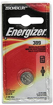 Energizer 389BPZ Zero Mercury Battery - - 1 Pack