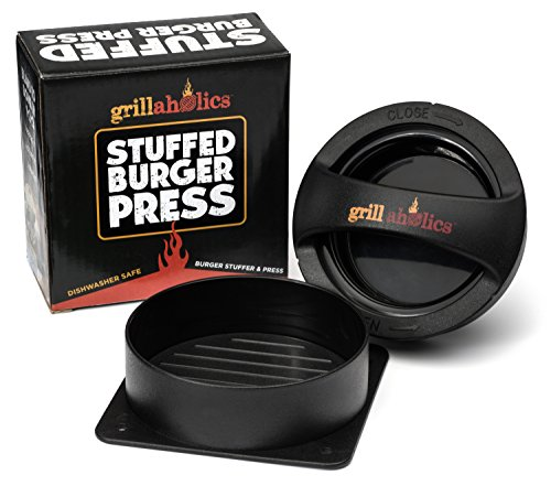 grillaholics-stuffed-burger-press-and-recipe-ebook-hamburger-patty-maker-for-grilling-bbq-grill-acce