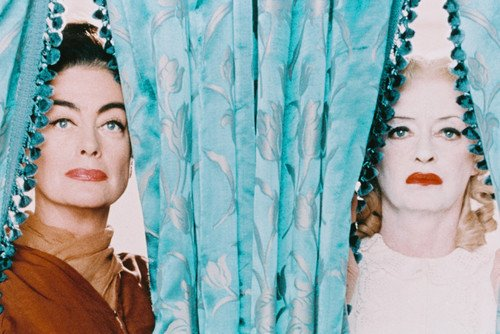 Bette Davis & Joan Crawford iconic pose Whatever Happened To Baby Jane 24X36 - Whats Iconic