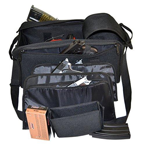 EXPLORER R5 Range Shooting, Patrol and Duty Bag, Black, 17 x 8 x 9-Inch