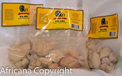 Kalaba- Marble Chalk- Kaolin- Calabar- 3 Pack
