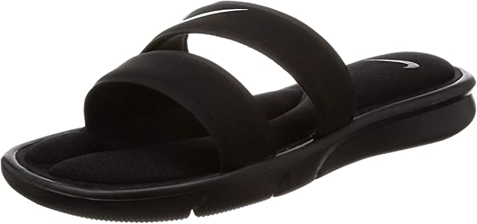 Aflojar tornillo Montgomery  NIKE Women's Ultra Comfort Slide Sandal, Black/White/Black, 11 B(M) US:  Amazon.co.uk: Shoes & Bags
