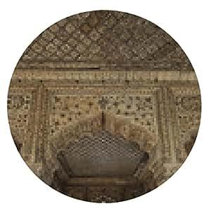 alfombrilla de ratón India, Delhi, el Fuerte Rojo, Diwan-i-Am - ronda - 20cm