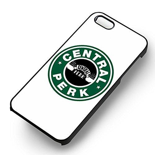 Friends TV Show Central Perk Starbucks pour Coque Iphone 6 et Coque Iphone 6s Case (Noir Boîtier en plastique dur) M4K8XR