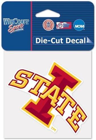 Iowa State University Die Cut Decal 4x4
