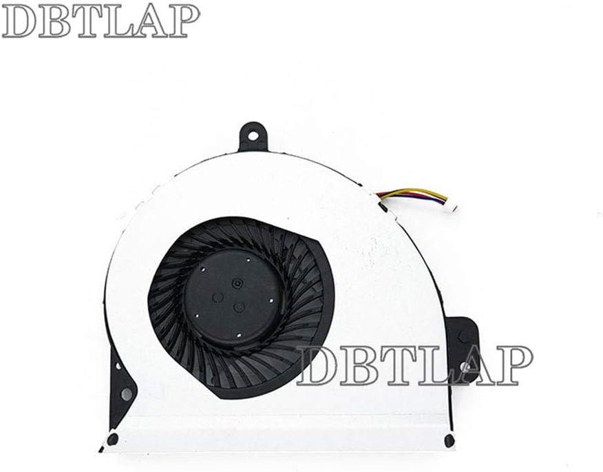 DBTLAP Cooling Fan Compatible for ASUS P43S A83SV P43 P43SJ A83 A53S K53S K45HR K43SV X53 X53E X53S X84H CPU Cooling Fan